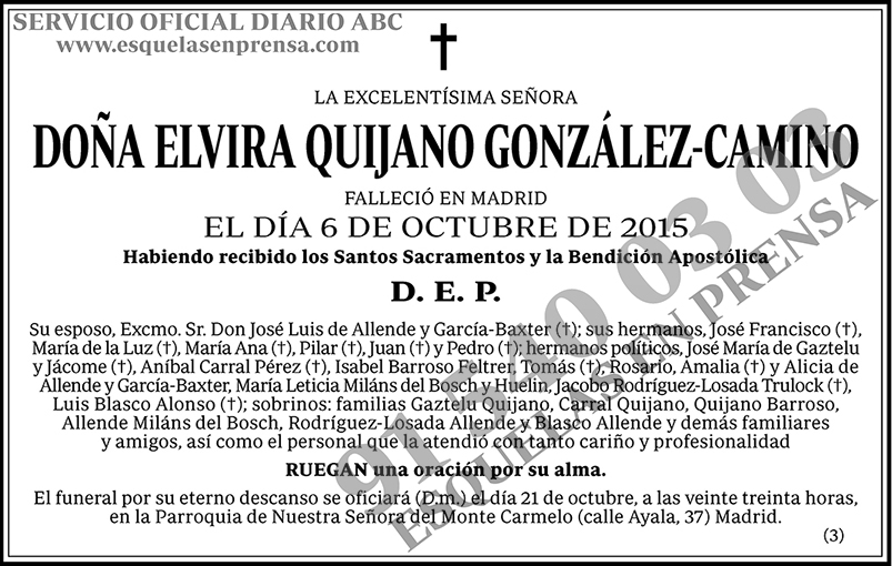 Elvira Quijano González-Camino